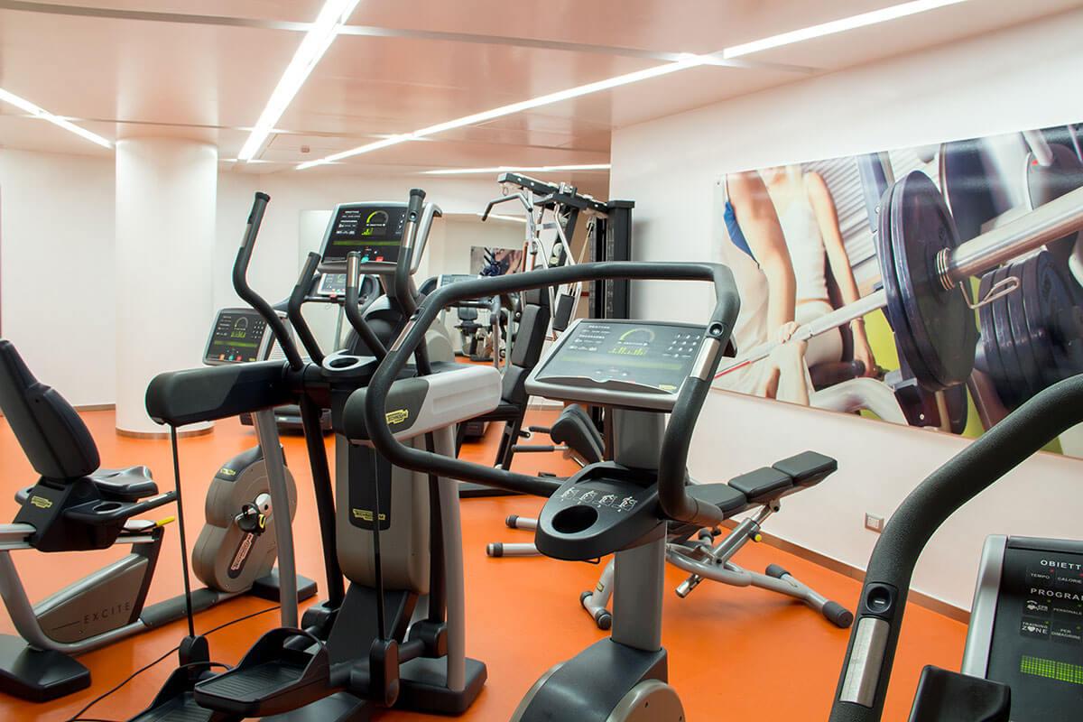 Sala Fitness - Hotel Albani Roma