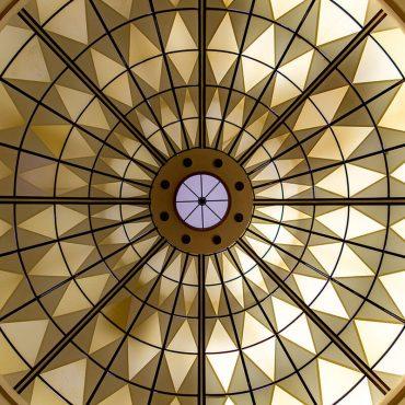Dettaglio Cupola - Hotel Albani Roma