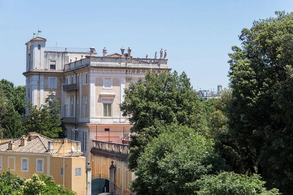 Vista Villa Albani - Hotel Albani Roma