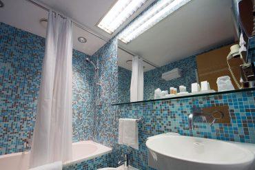 Bagno Mosaico Bisazza - Hotel Albani Roma