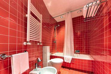 Bagno con Vasca - Hotel Albani Roma