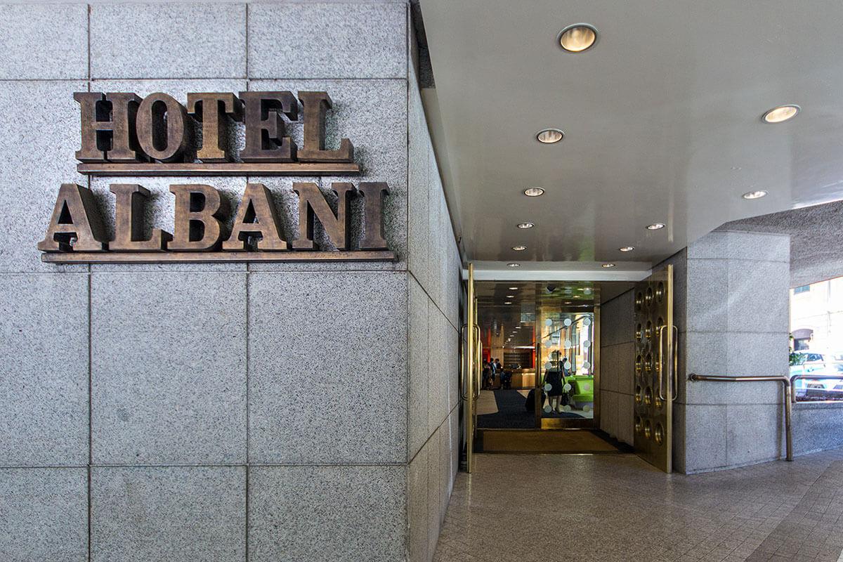 Entrata - Hotel Albani Roma