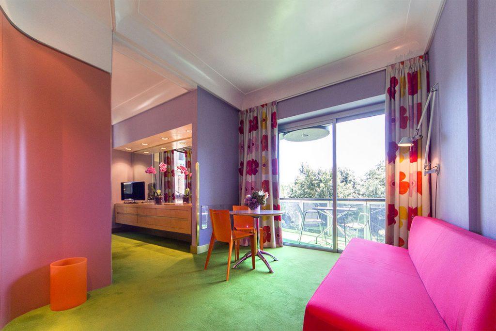 Soggiorno Camera Family - Hotel Albani Roma