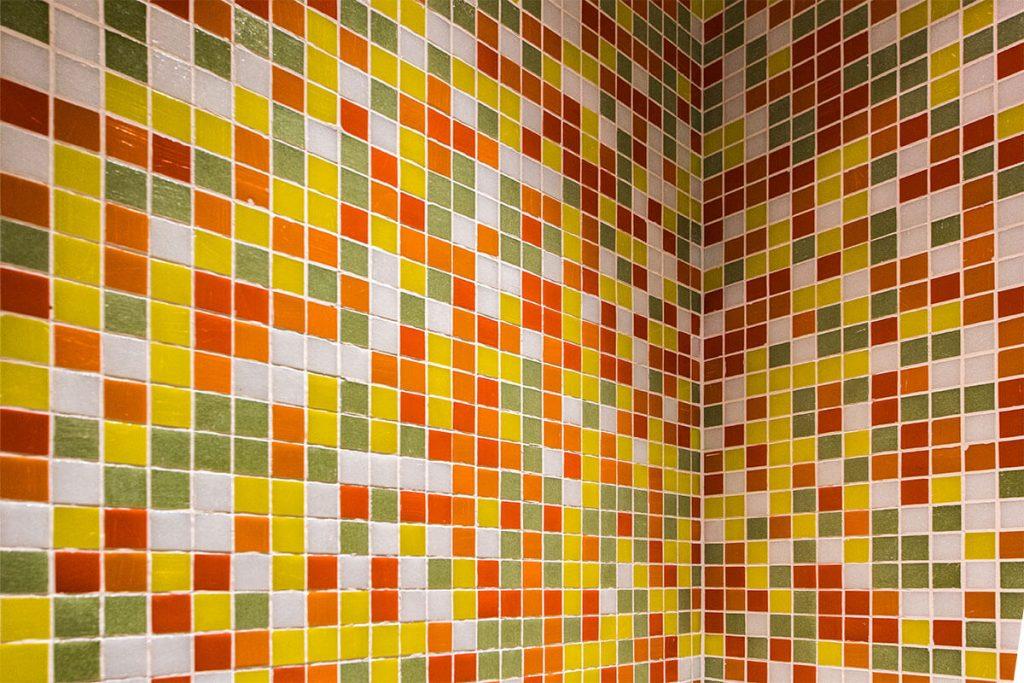 Dettaglio Mosaico Bisazza - Hotel Albani Roma