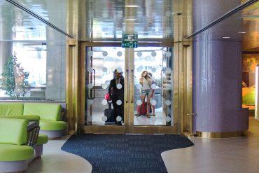 Entrance - Hotel Albani Roma